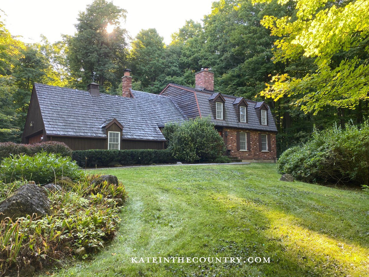 Home exterior - front, kateinthecountry.com